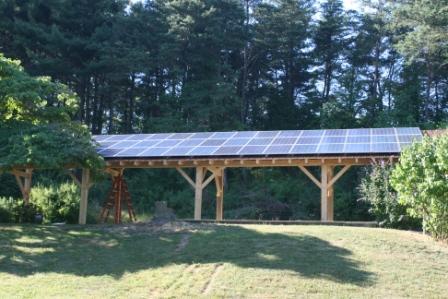 solar picnic pavilion